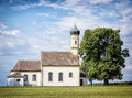 Old bavarian church near rosenheim Royalty Free Stock Photography