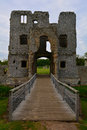 Old Beautiful Ruined Entrance ...