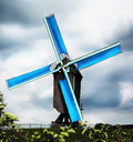 Old belgian windmill Royalty Free Stock Photo