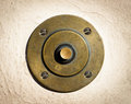 Old bell button Royalty Free Stock Image