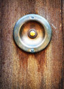 Old bell button close up Stock Image