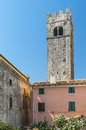 Old bell tower in Motovun Royalty Free Stock Photo