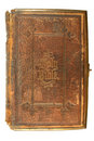 An old bible, printed in 1865. Stock Images