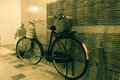 Old bicycle vintage style Royalty Free Stock Photo