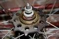 Old bike repair Royalty Free Stock Photo