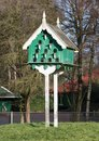 Old birdhouse for pigeons