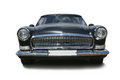 Old black luxury car Royalty Free Stock Photo