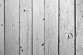 Old black and white color wooden fence background Stock Images