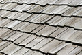 Old black wooden tiles Royalty Free Stock Images