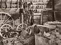 Old blacksmith forge hillend nsw australia Stock Image