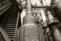Old blast furnace Royalty Free Stock Photo