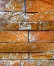 Old blick pattern plain brick is taken out of the brick boards were organized the contrast is interesting Royalty Free Stock Photo