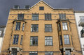 Old block of flats Royalty Free Stock Photo