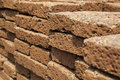 Old block sandstone wall photo stock Stock Photo