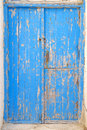 Old blue door detail background Royalty Free Stock Photo