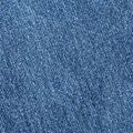 Old blue jean or denim cloth texture Royalty Free Stock Photo