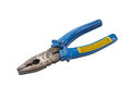 Old blue pliers Stock Photography