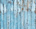 Old blue wood plank background closeup Royalty Free Stock Images