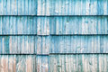 The old blue wood texture with natural patterns Royalty Free Stock Photo