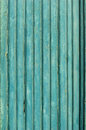 Old blue wooden planks background with cracked color paint Royalty Free Stock Images