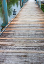 Old boardwalk or dock Royalty Free Stock Photo