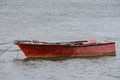 Old boat fishing on a mooring Royalty Free Stock Photo