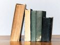 Old books on table Royalty Free Stock Photo