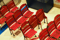 Old Boston Garden chairs Royalty Free Stock Images