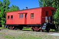 Old boxcar Royalty Free Stock Photo