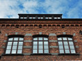 Old brick building Royalty Free Stock Photo