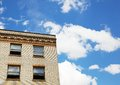Old Brick Building and Sky Royalty Free Stock Photo