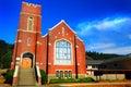 Old Brick Church Royalty Free Stock Photo