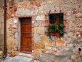 Old brick facade Royalty Free Stock Photo