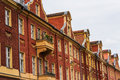 Old brick gable houses in potsdam germany brandenburg Stock Photography