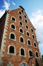 Old brick granary Royalty Free Stock Photography