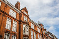 Old brick houses in London Royalty Free Stock Photo