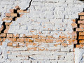 Old brick masonry wall Stock Image