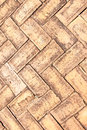 Old brick paving stones Royalty Free Stock Photo