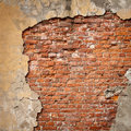Stock Images Old brick wall