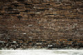 Old brick wall in background Royalty Free Stock Photo