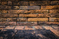Old brick wall backgrounds Royalty Free Stock Photo