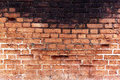 Old brick wall cracked concrete vintage background Stock Images