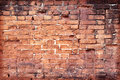 Old brick wall cracked concrete vintage background Royalty Free Stock Images