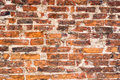 Old brick wall. Grunge background for interior design Royalty Free Stock Photo