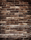 Old brick wall grungy texture of background Stock Photos