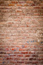 Old brick wall making background Royalty Free Stock Images