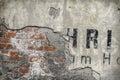 Old Brick Wall Pattern Closeup...