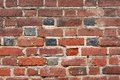 Old brick wall red surface Stock Image