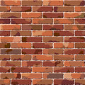 Old brick wall. Seamless illustration. Royalty Free Stock Photo