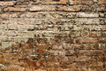Old brick wall texture grunge abstract & backgrounds Royalty Free Stock Photo